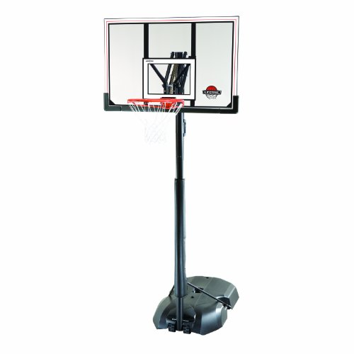 Lifetime 51544 Front Court Portable Basketball System, 50 Inch Shatterproof Backboard by Lifetime