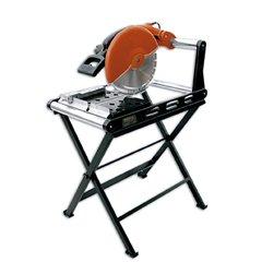 Ega Master BENCH BRICKS CUT-OFF MACHINE WITH TABLE 355 MM 110 (355mm Chop Saw)