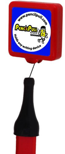 Pencil Pull Classic Retractable Holder of Marking Instruments, Belt slide Clip, Color May Vary,  Assorted Color, 1 Holder (A106)