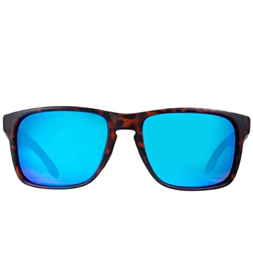Rheos Coopers Floating Polarized Sunglasses | UV Protection | Floatable Shades | Anti-Glare | Unisex (Tortoise | Marine)