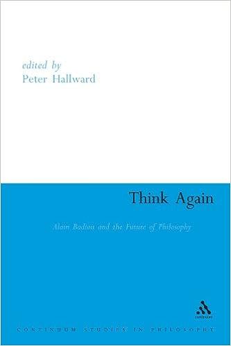 Alain Badiou: Live Theory