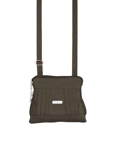 Baggallini Luggage Roundabout Bag, Dark Olive, One Size