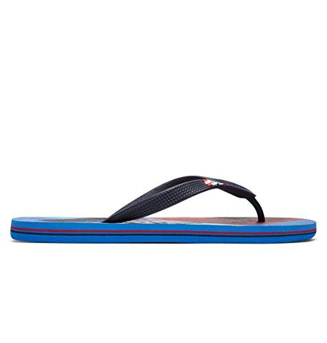 Shoes Dc red Bleu Sandales Spray Blue Hommes Graffik vUdwBqU