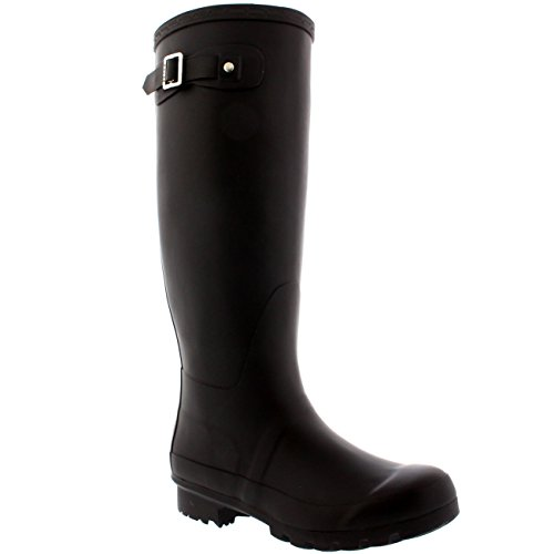 Snow Wellies Rain Boots BRO39 BL0025 8 Winter Waterproof Tall Original Womens Wellington Polar pwqzx0Yt0