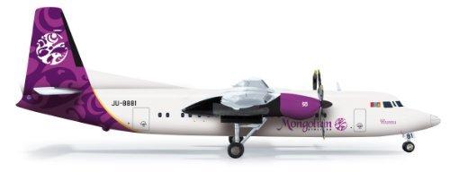 herpa Wings 1/200 Fokker 50 Mongolian Airlines (japan import) by HERPA