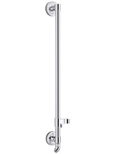 KOHLER K-45903-CP Hydrorail-H Bath and Shower Column, 1, Polished Chrome ()