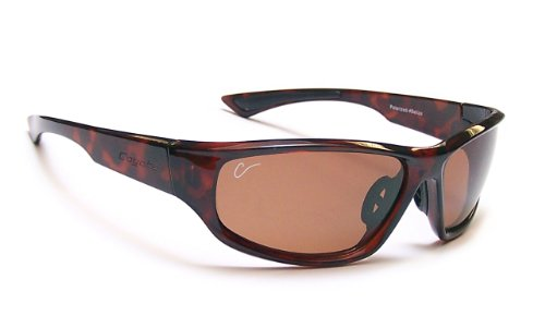 Coyote Eyewear Polar Lite Baja Polarized Sport Sunglasses, Tortoise, - Sunglasses Coyotes