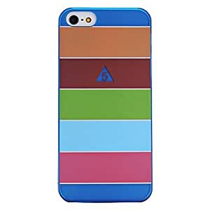 Five Colorful Stripes Pattern Plastic Hard Case for by ruishername