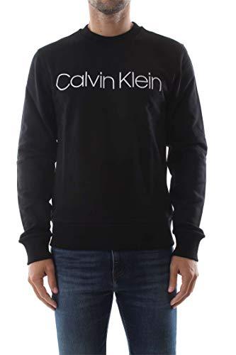 Sweat Logo K10k102724 Klein Homme Cotton Calvin Noir shirt Pwq7z