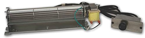 - Comfort Flame BK Direct-Vent Variable Speed Blower for Fireplaces with Manual Control