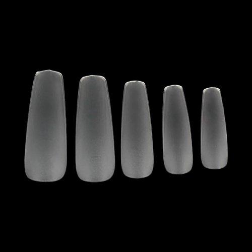 Makartt 360pcs Coffin Nails Acrylic