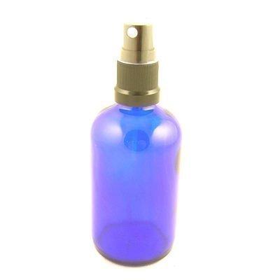 Botellas de cristal azul York con spray nebulizador / tapa pulverizador 50 ml