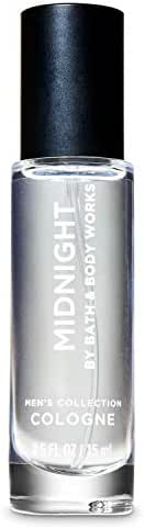 Bath & Body Works Midnight Mini Cologne Spray for Men 0.5 fl oz / 15 mL