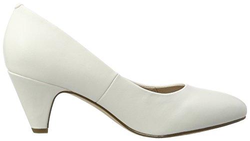 Femme Tamaris 22416 Escarpins Blanc white Matt EqxS067nwx