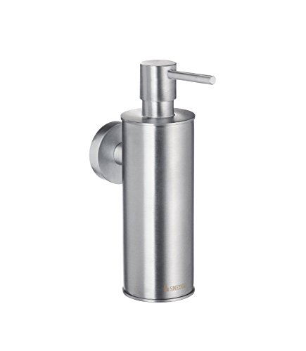 Smedbo SME HS370 Soap Dispenser Wallmount, Brushed Chrome,
