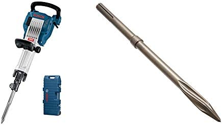 Bosch GSH 16-30 Professional Martillo demoledor con cincel puntiagudo 400 mm (hexágono interior de 30)+ Bosch 2 608 690 167 Cincel puntiagudo RTec Speed SDS-max - 400 mm (pack de 1): Amazon.es: Bricolaje y herramientas