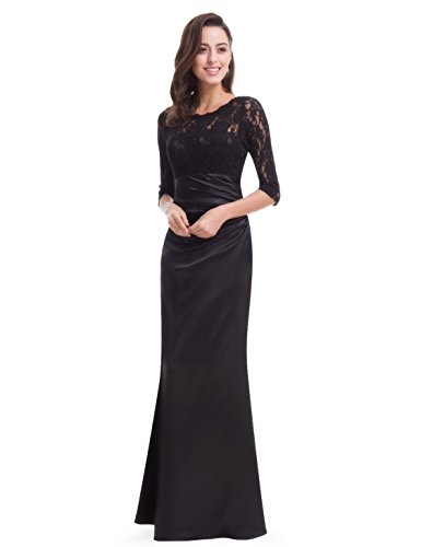 Ever mujer Negro para Vestido Pretty HE09882SB14 Black anSWa