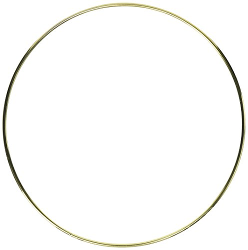 (Darice Gold Metal Ring, 14-Inch)