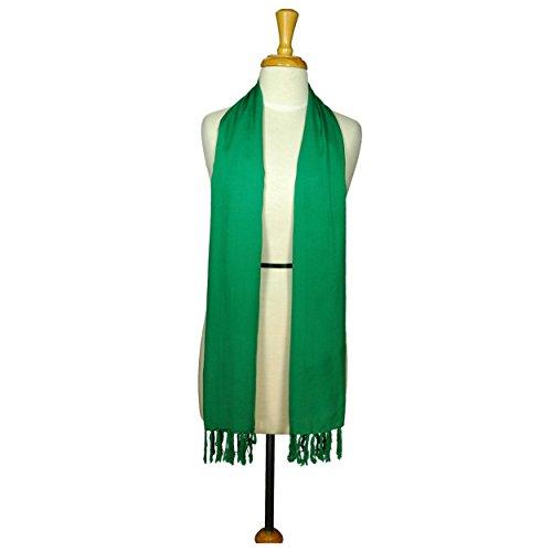 Green Mujeres Color Un Ancho Para Choice Your De Bufanda Color 1 Sarongs En Doble Mundo XHx6P6