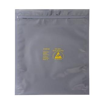 "Zip-Top ESD Anti-Static Shield Bags 1,000 5/"" x 8/"""
