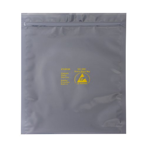 Box Partners 3M ESD 1000 Translucent Metal-In Bag, 5 x 3'', 3 mil Thick (STC307) by Box Partners
