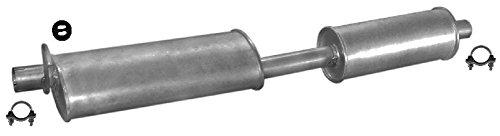 ETS-EXHAUST 50576 Silenziatore marmitta Centrale + kit di montaggio (pour TRANSIT 2.5 D BUS 70/80hp 1986-1988) ETS-SCARICO