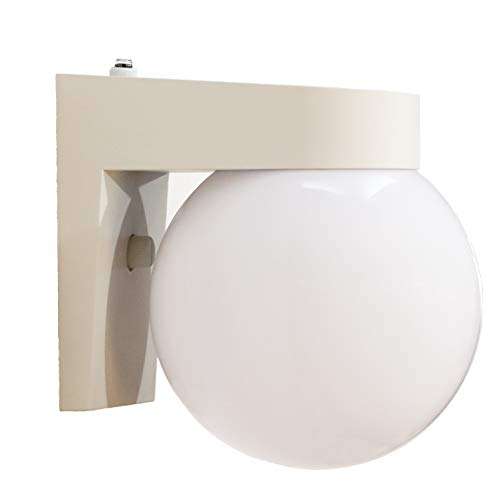 CORAMDEO Commercial Residential Outdoor Globe Light, Porch Light, Dusk to Dawn Photocell, Wet Location, Built in LED…