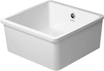 duravit 7514450000 vero kitchen sink white single bowl sinks rh amazon com