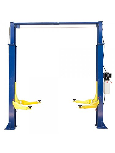 TRIUMPH NTO-9AE Economy 9000Lbs Two Post Clear Floor Lift by TRIUMPH (Image #1)