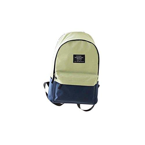 Fashion Student Bag Casual Canvas Rucksack Kleine Fresh Travel Rucksack_A12