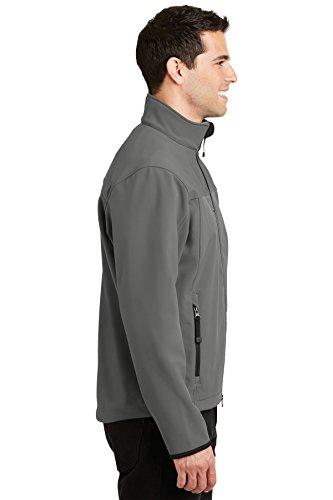 Shell de Autoridad chaqueta Portuaria Soft Chrome Grey hombre Glacier Smoke XxPxnHv6