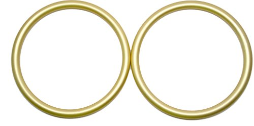Cheap Roo Threads Aluminum Rings for Baby Slings, Gold