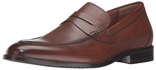 206 Collective Men's Winton Penny Loafer, Cognac, 9.5 D US Brown Penny Loafer
