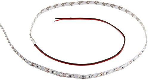 NTE Electronics 69-312A Flexible Led Strip, 16.4' Reel, 600 Led, Non-Waterproof, Led Size 3528, 12  VDC, 48W, Amber by NTE Electronics
