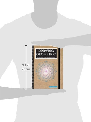 Drawing Geometric: Tools and Inspirations to Create Amazing Geometric Drawings - Includes: Sketchbook, Geometric Stencils, and More by Rock Point (Image #4)