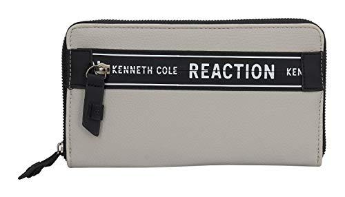 Reaction Kenneth Cole Zip Around Organizer Wallet (Seagull)