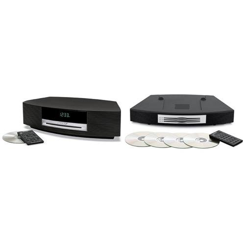 Bose Wave Music System III with Remote Control, 120V AC Power, Graphite Gray Bundle With Bose Wave Multi-CD Changer, Graphite Gray