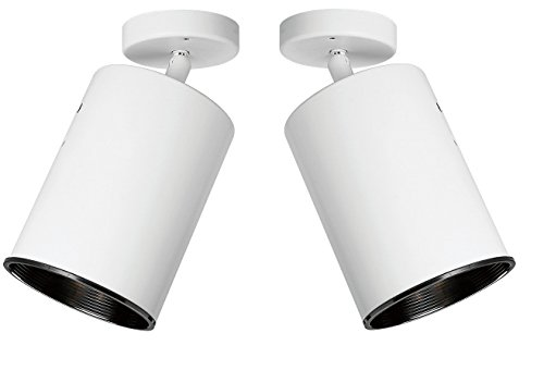 ctional Wall and Ceiling Heat Lamp, White Finish. - 2-Pack ()