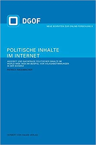 Politische Inhalte Im Internet Angebot Und Nachfrage Politischer