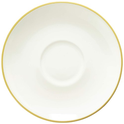 Colorwave Saucer - Noritake Colorwave Saucer, Mustard