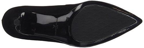 Black Mujer Punta Martinelli de 1273 Zapatos Cerrada 3897a Tacón Saja para Negro con wB1nUxCgB