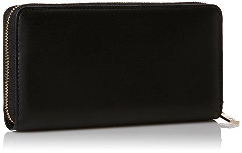 Love Moschino Damen Portafogli Nappa Pu Nero Clutch, schwarz (Black), 3 x 10 x 20 cm
