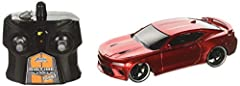 "From the classic American muscle car to modern race marvels, Big Time Muscle 7.5"" Radio Control cars by Jada Toys brings American car culture to a smaller scale. Featuring custom styling with a modern flare, these full function radio control ..."