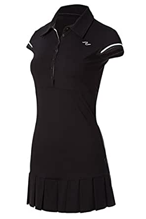 Naffta Tenis Padel - Vestido para Mujer, Color Negro/Blanco, Talla ...