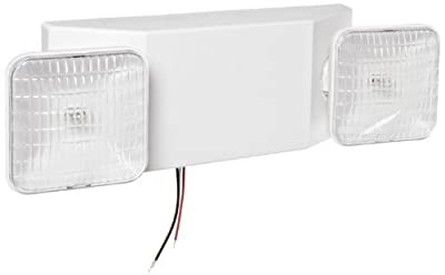 Design House 512970 Emergency-Light with 90 Minute Battery, 5-Inch by 16.25-Inch, White