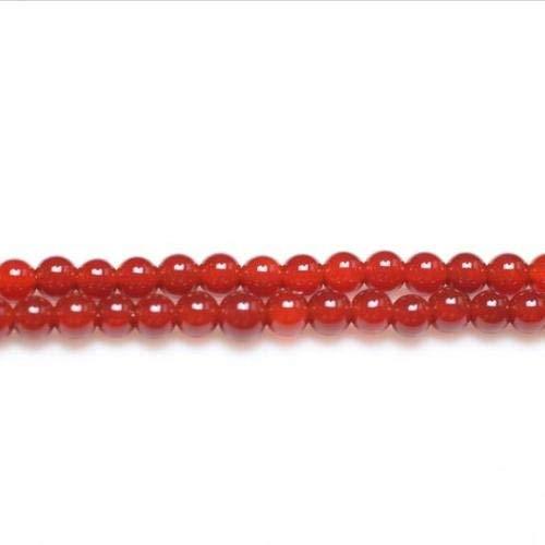 Charming Beads Rosso Corniola 3mm Tondo Perline GS9711-2 Filo 110