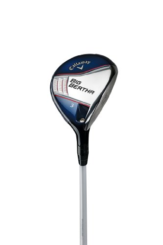 Callaway Men's Big Bertha Fairway Woods, Right Hand, Graphite, Stiff Flex, 3...