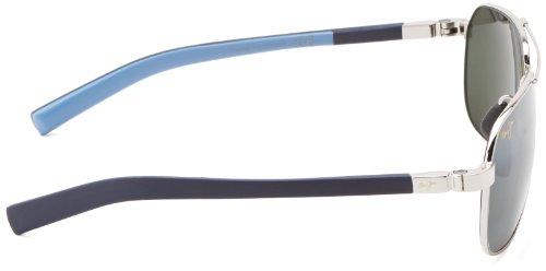 Silver nbsp;Mens Frame de polarizadas gafas Maui negro contracarriles 32702 Green Jim brillante sol Blue Polarized Lens RqttvPFw