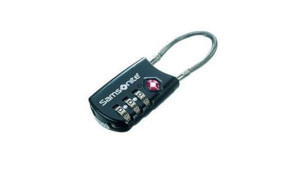 be377fc52143 Amazon.com: Samsonite 3-Dial TSA Cable Luggage Lock, Travel Sentry ...