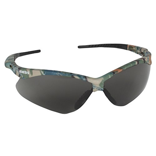 12 Pack Jackson Safety 3020707 V30 Nemesis Safety Glasses Camo Frame / Smoke Anti-Fog Lens(22609) by Allsafe Services & Materials (Image #1)